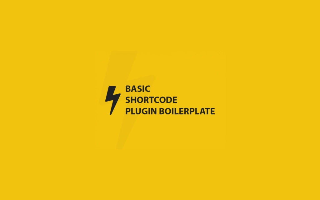 WP-Shortcode-Boilerplate